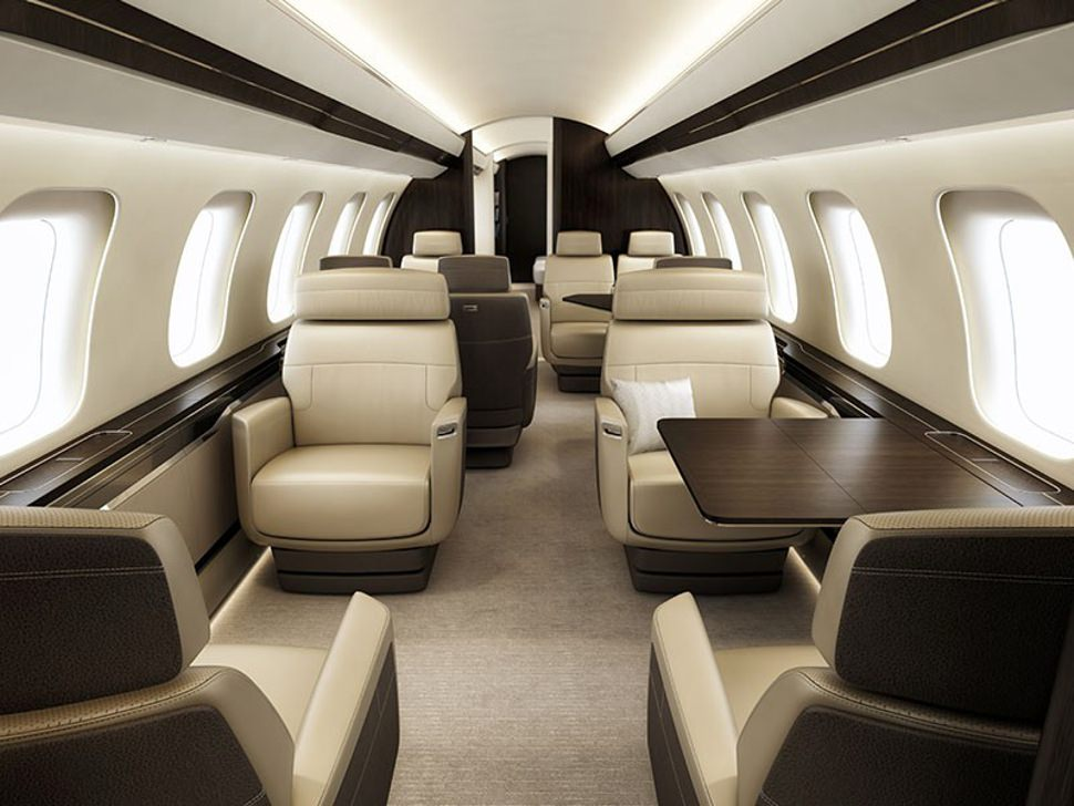 Cabine Bombardier Global 7000
