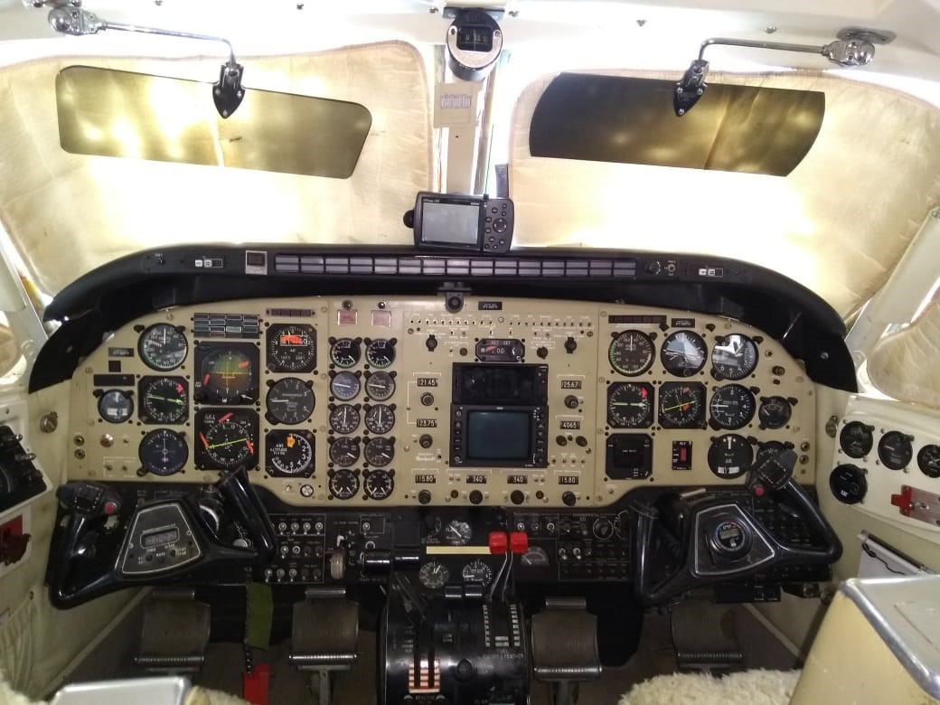 BEECHCRAFT KING AIR B100 1978