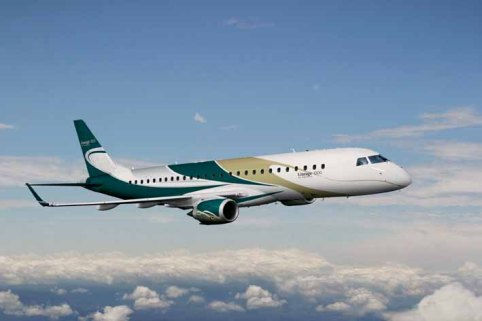 EMBRAER entrega Lineage 1000 à Al Jaber Aviation