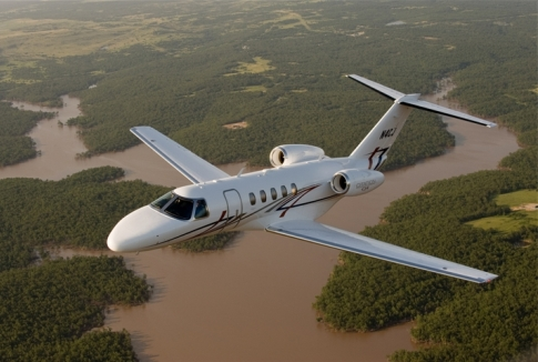 Cessna entrega primeiro Citation CJ4