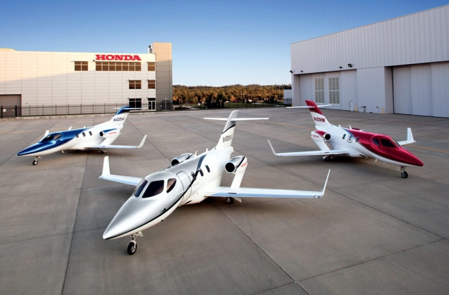 Hondajet recebe certificado da European Aviation Safety Agency