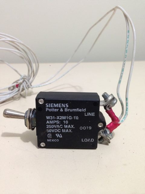 SIEMENS Chave 10 amps PN W31-X2MIG-10